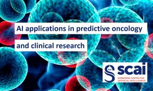 AI applications in predictive oncology and clinical research - SCAI @ CICSU, tower 44, room 107, Jussieu - Pierre and Marie Curie Campus - Sorbonne University